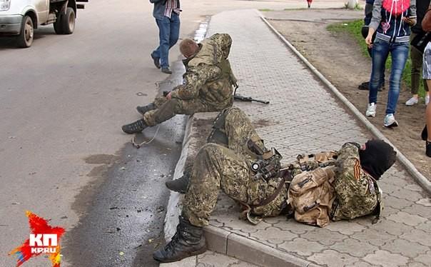 Đặc nhiệm Ucraine bị Nga bắt ở Crimea (ảnh minh họa)