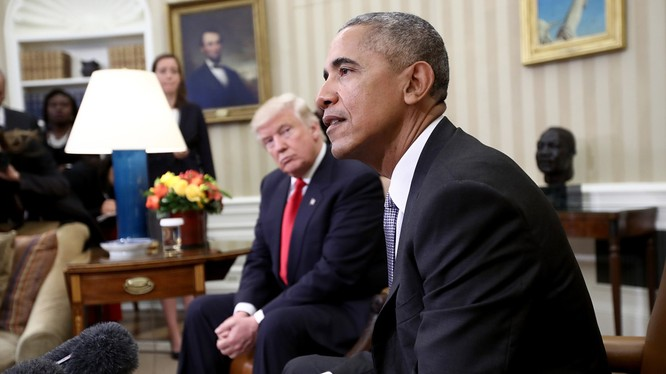 Các ông Obama và Trump không giải quyết được một số bất đồng