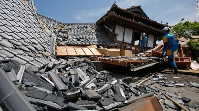 Hậu quả động đất với Nhật Bản trong quá khứ (ảnh tư liệu minh họa)