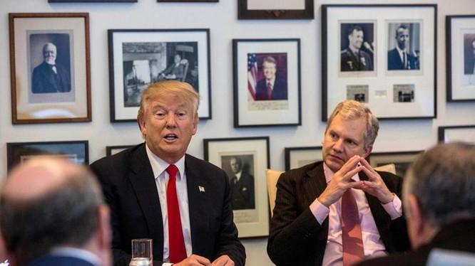 Donald Trump quyết định gặp gỡ ban biên tậo báo New York Times (ảnh minh họa)