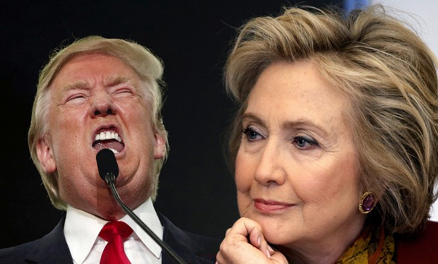 Bà Hillary Clinton vượt xa ông Donald Trump đến 2 triệu phiếu phổ thông.