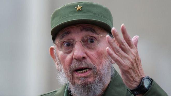 Nhà lãnh tụ Cuba Fidel Castro