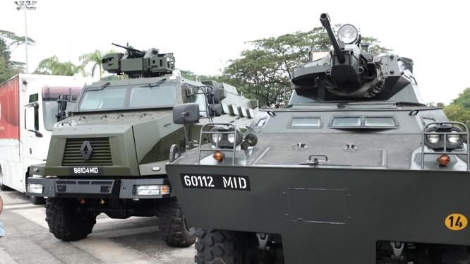 Trung Quốc bắt xe chở binh lính Singapore đang trên đường chuyển từ Đài Loan (ảnh minh họa)