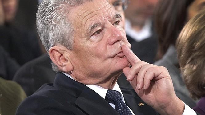 Tổng thống Đức Joachim Gauck.