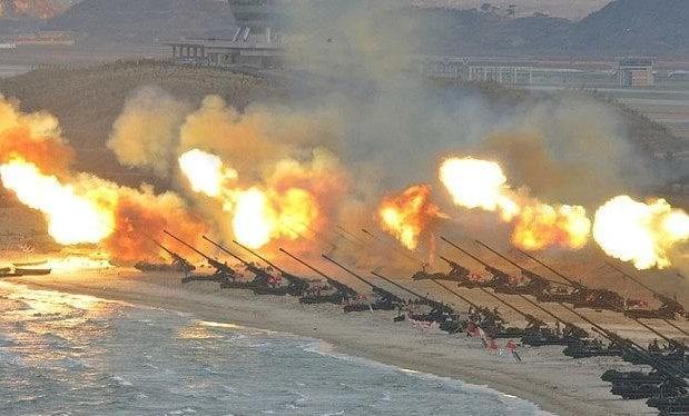 Quân đội Bắc Triều Tiên tập trận pháo binh quy mô lớn, mô phỏng tập kích Seoul (ảnh minh họa)