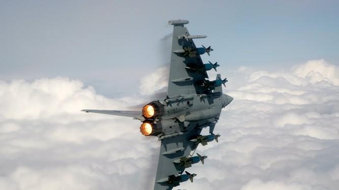 Chiến cơ Typhoon của Không quân Anh (ảnh minh họa)