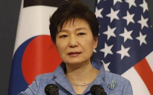 Tổng thống Hàn Quốc Park Geun-hye.