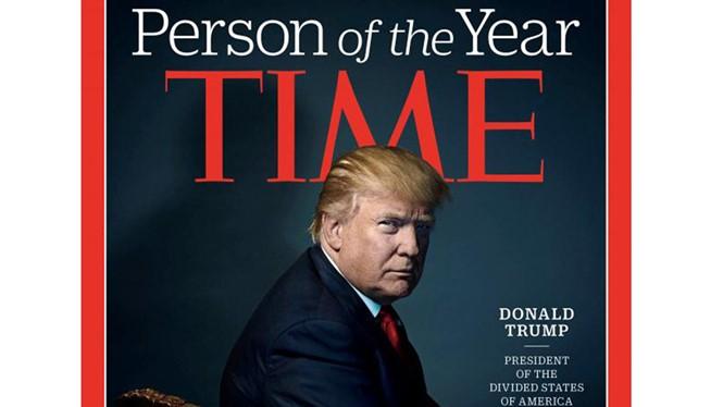 Tạp chí Time bầu ông Donald Trump là Người của năm 2016