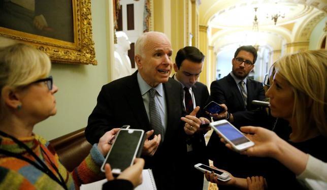 Thượng nghị sỹ John McCain.