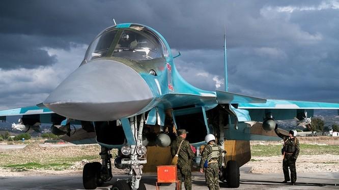 Không quân Nga ở Syria.(ảnh minh họa)