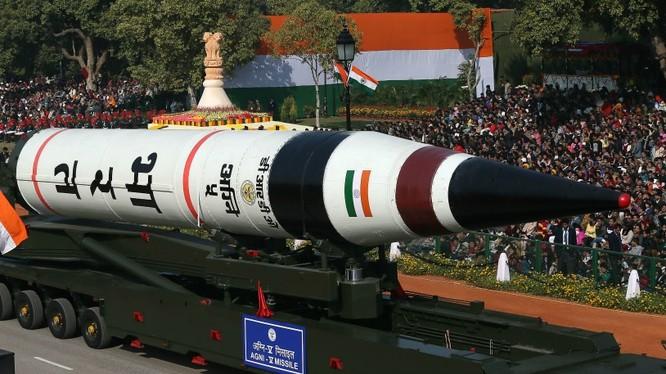 Ấn Độ sắp thử tên lửa Agni-5 có khả năng mang đầu đạn hạt nhân (ảnh minh họa)