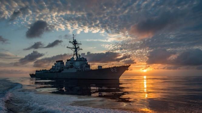 Tàu Hải quân Mỹ (ảnh minh họa)