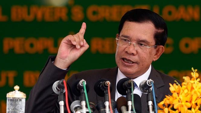 Ông Hunsen (ảnh The Cambodia Daily)