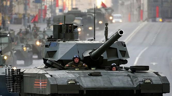 Xe tăng Armata của Lục quân Nga (ảnh minh họa)