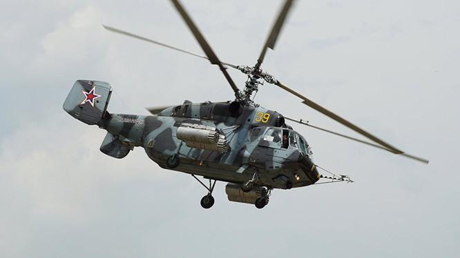 Hạm đội Thái Bình Dương, Nga sẽ nhận trực thăng Ka-29 nâng cấp vào năm 2017