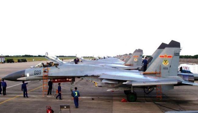 Không quân Trung Quốc sử dụng máy bay Su-30 do Nga cung cấp (ảnh minh họa)