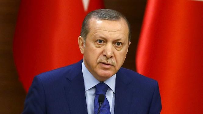 Tổng thống Thổ Nhĩ Kỳ Tayyip Erdogan.(ảnh minh họa)