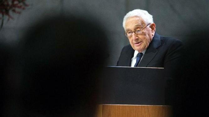 Cựu Ngoại trưởng Mỹ Kissinger.