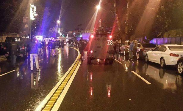 Xả súng tại hộp đêm Thổ Nhĩ Kỳ ngay trong đêm Giao Thừa, nhiều thương vong