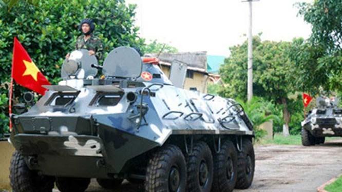 Xe thiết giáp chở quân BTR-60 (ảnh minh họa)