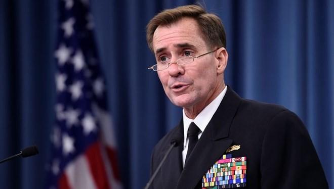 Người phát ngôn Bộ Ngoại giao Mỹ John Kirby. (Nguồn: washingtontimes.com)