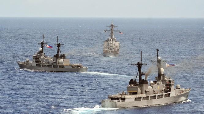 Tàu hải quân Philippines (ảnh minh họa)