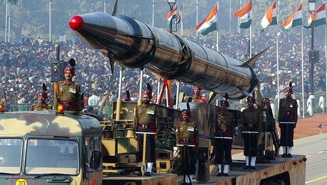 Tên lửa đạn đạo của Ấn Độ.