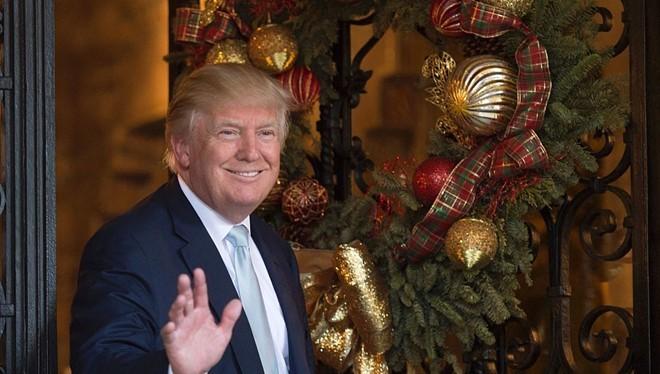 Thủ tướng Nguyễn Xuân Phúc chuyển lời mời ông Trump thăm Việt Nam nhân dịp Hội nghị cấp cao APEC. Ảnh: Getty.