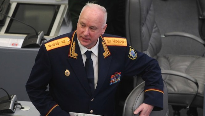 Bộ Tài chính Mỹ trừng phạt nhà điều tra hàng đầu của Nga Alexander Bastrykin (ảnh: The Moscow Times)