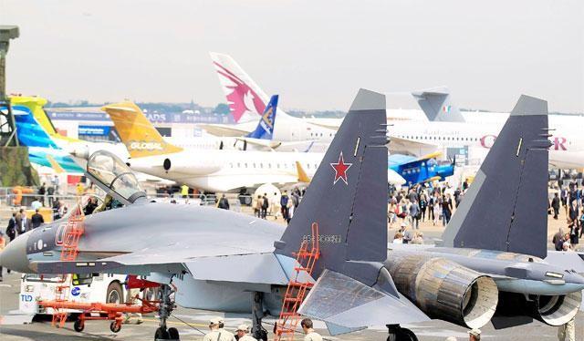 China Daily: Nga chuyển giao 4 chiếc Su-35 cho Trung Quốc (ảnh minh họa)