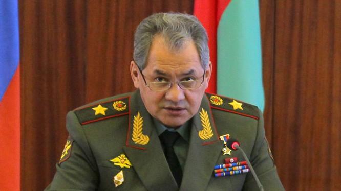 Tướng Shoigu: Không quân Nga ở Syria đã thực hiện xong nhiệm vụ tổng thống Putin giao phó