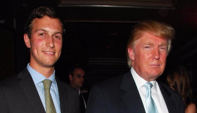 Trump chọn con rể vào Nhà Trắng