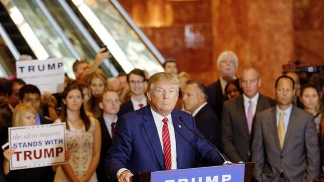 Donald Trump sẽ tổ chức họp báo lần đầu tiên kể từ khi trúng cử