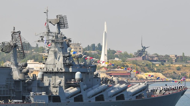 Tàu chiến Hải quân Nga (ảnh minh họa)