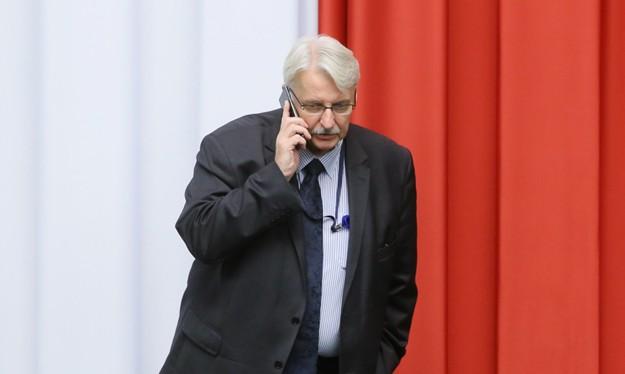 Ngoại trưởng Ba Lan Witold Waszczykowski.