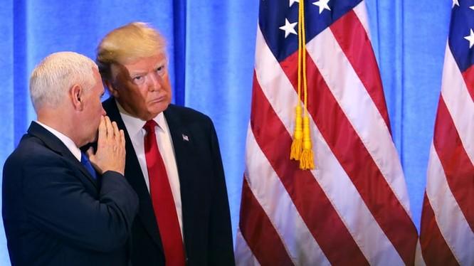 Tổng thống và Phó tổng thống Mỹ nhiệm kỳ mới.