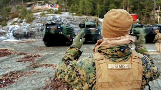 Nga sẽ kiểm tra trụ sở Thủy quân lục chiến Mỹ tại Đức