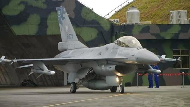 Máy bay chiến đấu của Không quân Đài Loan.