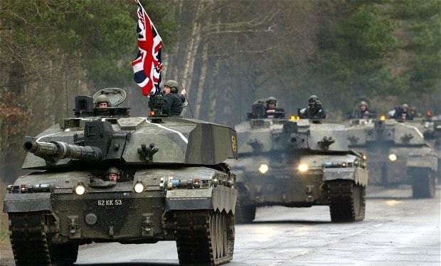 Quân đội Anh tập trận đề phòng chiến tranh với Nga