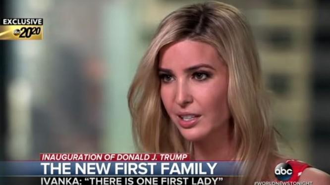 Con gái ông Donald Trump - bà Ivanka Trump.