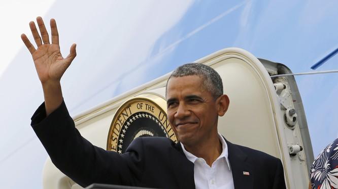 Tổng thống Barack Obama lúc đương nhiệm.