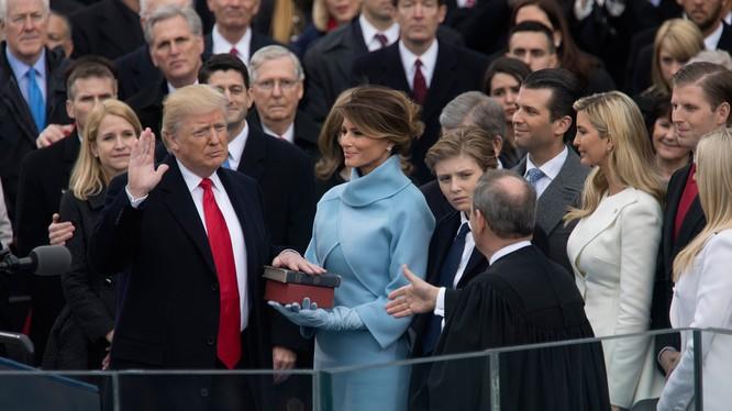 Lễ nhậm chức của ông Trump thu hút gần 31 triệu người xem qua truyền hình