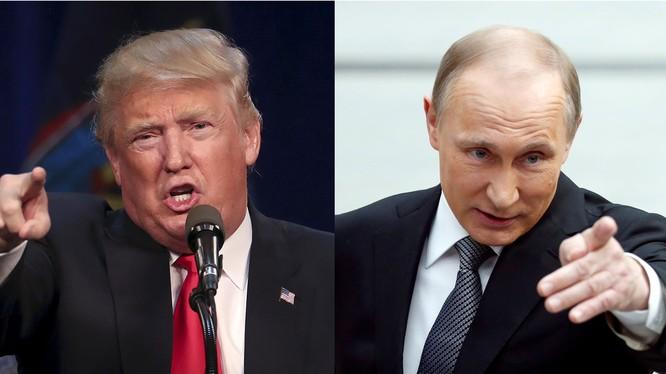 """Phó giáo sư Nga: """"Tổng thống là ai, Nga và Hoa Kỳ vẫn là những đối thủ định mệnh"""" (ảnh minh họa: Tổng thống Mỹ, Nga)"""