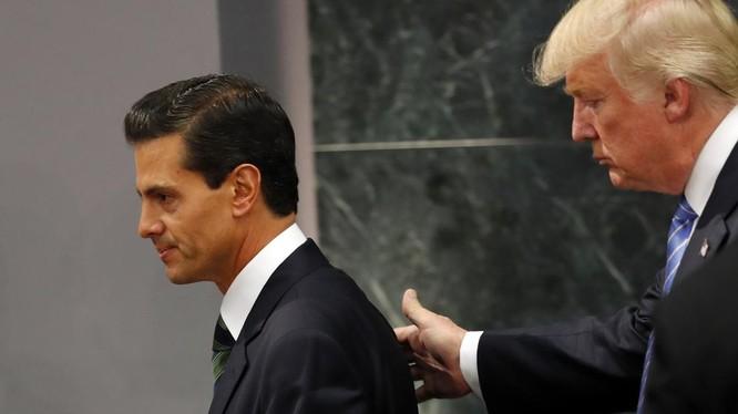 Ông Trump tuyên bố xây tường chắn biên giới, Mexico bác bỏ việc phải trả tiền