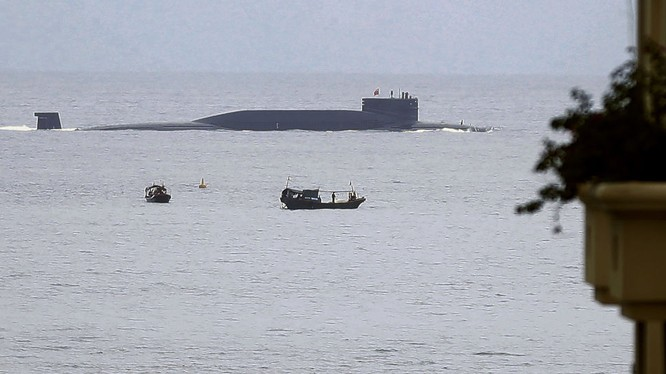 Tàu ngầm của Hải quân Trung Quốc (ảnh minh họa, Sputnik)
