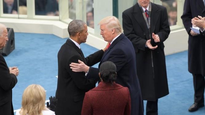 Tổng thống Mỹ Donald Trump bênh vực người tiền nhiệm Obama (ảnh tư liệu, minh họa)