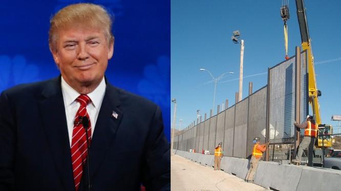Trump dùng rào thuế quan đánh vào hàng nhập khẩu Mexico để xây tường biên giới