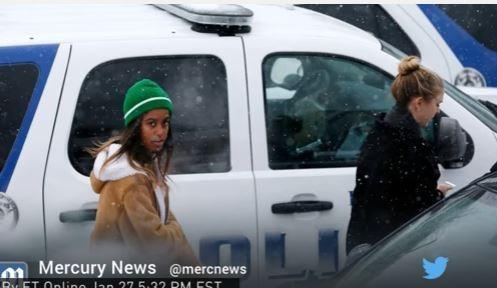 Con gái ông Obama tham biểu tình chống quyết định của ông Trump - VIDEO