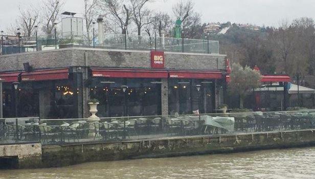 Nhà hàng ở Istanbul, Thổ Nhĩ Kỳ, nơi xảy ra vụ bắn giết.