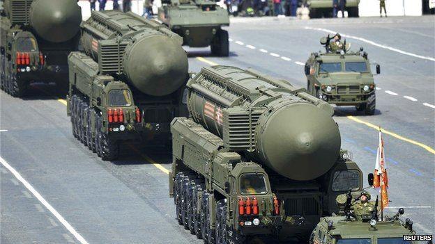 Tên lửa đạn đạo xuyên lục địa của Nga (ảnh minh họa)